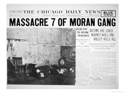 In 1929 The St. Valentineu0027s Day Massacre Shocked The Nation And The World  When Seven People Were Killed In Chicago.