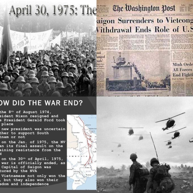 Today is the 43rd Anniversary of the end of the Vietnam War | Roy F
